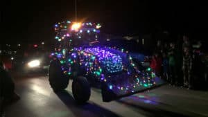Dorset Lighted Tractor Parade