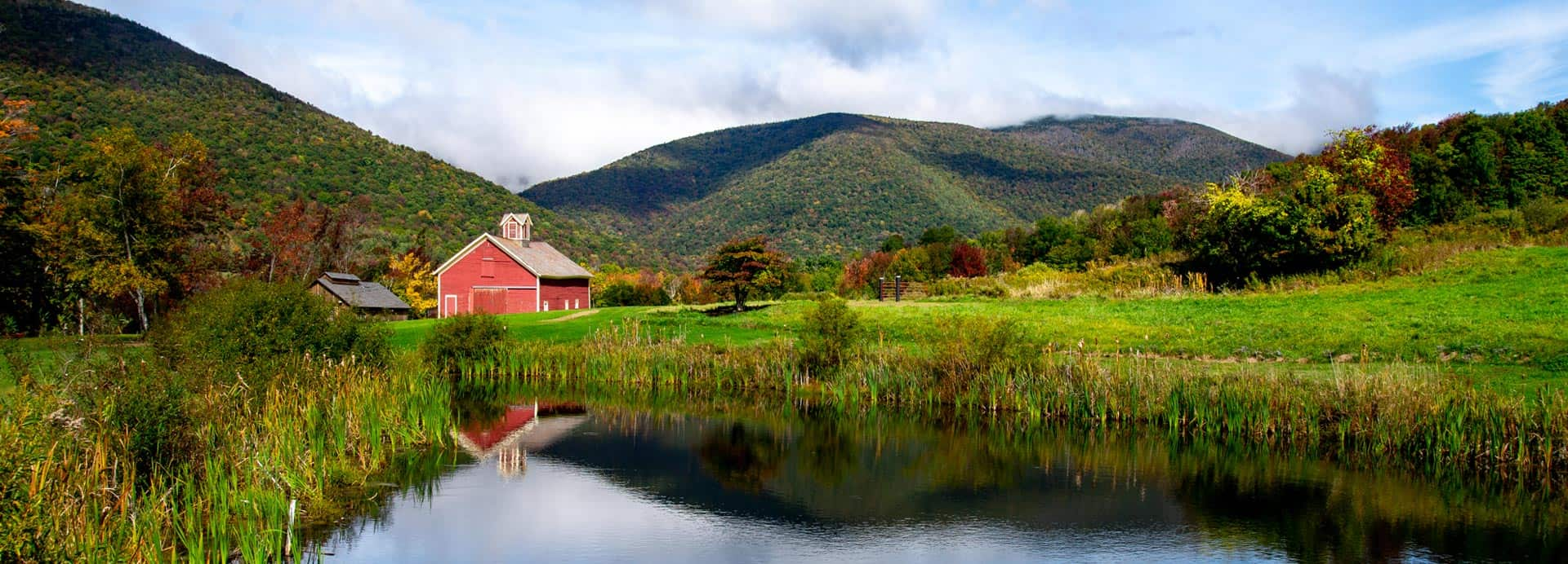 Vermont Fall Pond