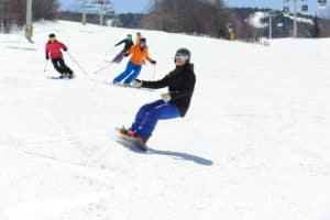 Skiing and riding at Stratton Mountain